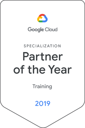 SFEIR Institute named Google CLoud Partner Of The Year - Training